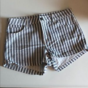 Striped shorts new